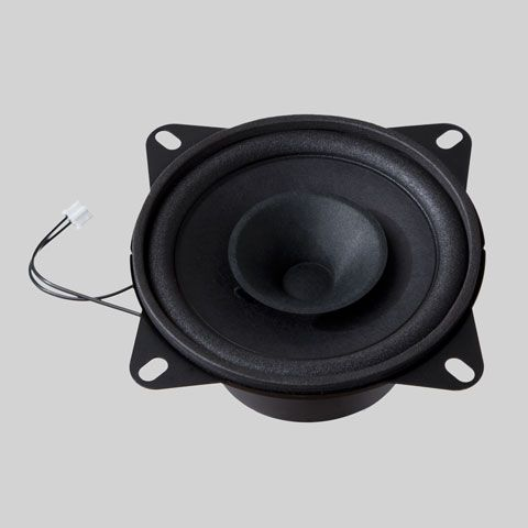 Loudspeaker with cables