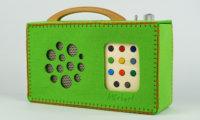 felt-bag for hörbert in green