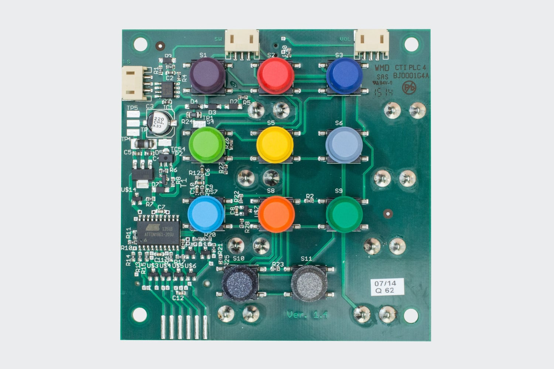 Key side of the hörbert electronics