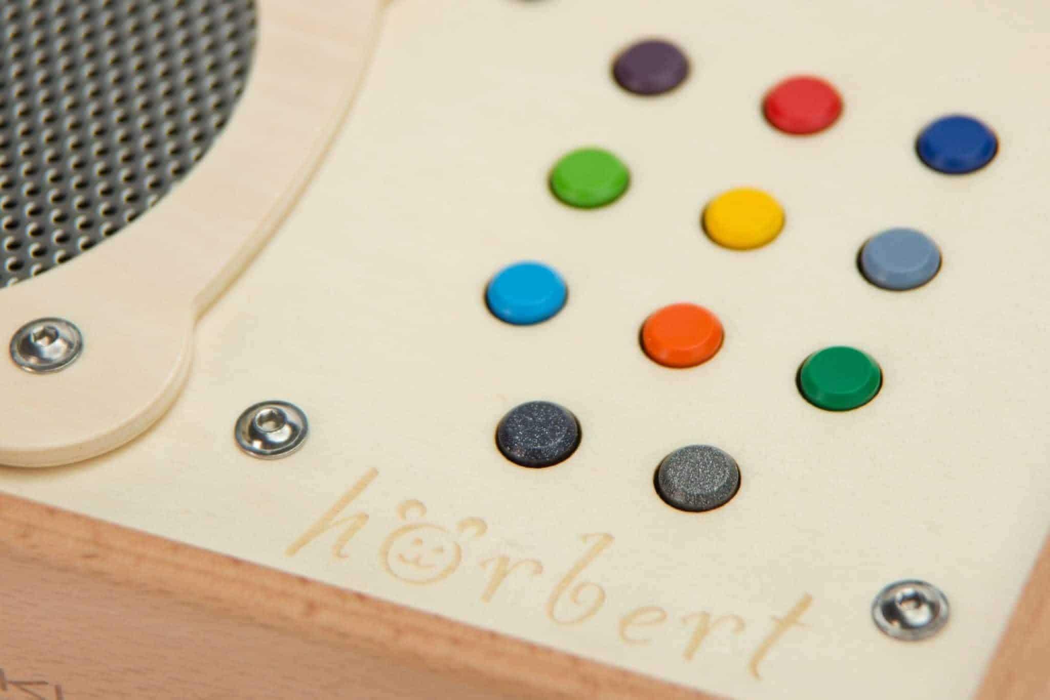 hoerbert coloured keys