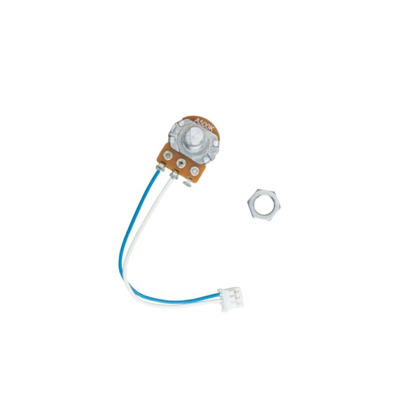 Potentiometer with cable and nut