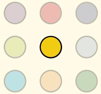 Illustration: Gelbe Taste
