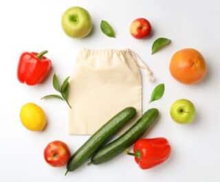 Obst und Gemüse ohne Plastik