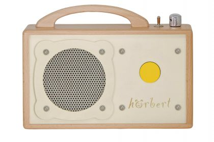 hörbert for people with disabilities. Accessible audio player and MP3 player