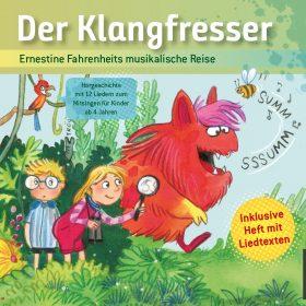 CD mit Ernestine Fahrenheits musikalische Reise in Der Klangfresser